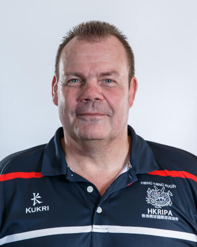 <h3>Dave Lewis</h3> <h4>PRESIDENT</h4> <p>Born in HK, brought up in the UK, Dave returned to HK in 1988 as a police officer. He played mainly for the Police, but also had two seasons with Kowloon. His highlights were winning the HKFC 10's in 1990 and beating the USA, Japan and Canada during the 1998 Pac Rim tournament</p>
