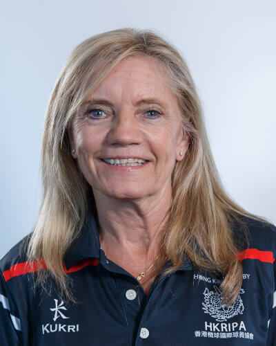 <h3>Ruth Mitchell</h3> <h4>VICE CHAIRPERSON</h4> <p>Ruth arrived in Hong Kong from Liverpool 1976 and played for the Royal Hong Kong Police (RHKP) in 1995. Ruth then played, Coached, Managed and was Vice Chair of DeA. Ruth represented Hong Kong at 7s and 15s. When Ruth retired, she became the Director Development HKRU. Ruth's highlight of her career was being awarded IRB Personality of the year 2011.</p>